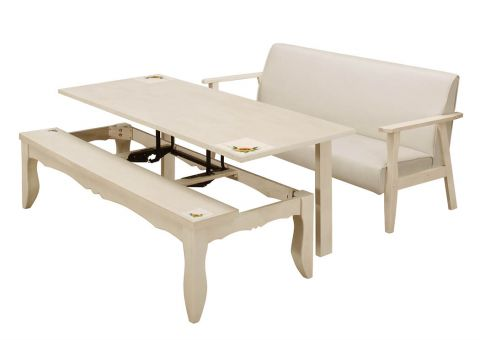 CT 2 IN 1 COFFEE TABLE SET