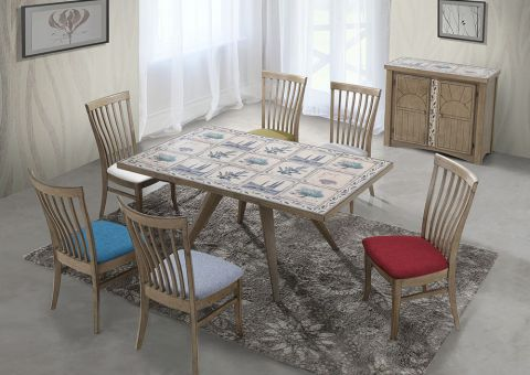 CT 4266 PROVANCE DINING SET